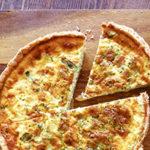 アスパラガスとフェタチーズのキッシュ