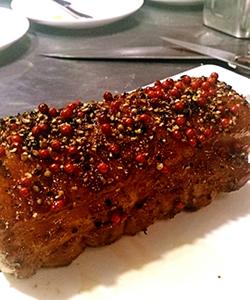 豚ロースのロースト ペッパーハニー風味