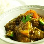 夏野菜と鶏肉のインドカリー