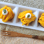 かぼちゃのプチモンブランパイ