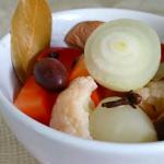 フランボワーズビネガーの野菜のピクルス
