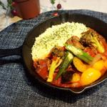 フランス家庭料理風・クスクスとトマト煮