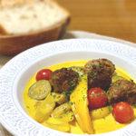 まろやか×ほんのりスパイシー 夏野菜のカレースープ