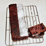 ハイビスカスとベリーのパウンドケーキ